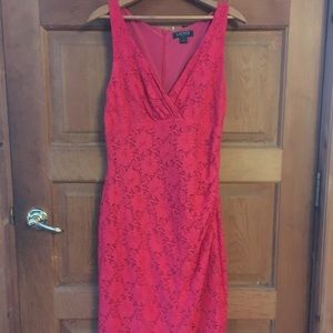 Pink cocktail dress size 12